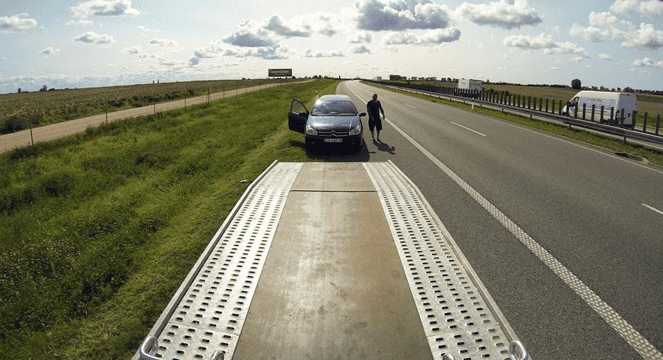 pomoc drogowa autostrada A1 laweta